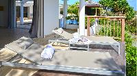cool balcony of Saint Barth Villa - Bel Ombre luxury holiday home, vacation rental