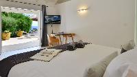 clean bed sheets in Saint Barth Villa - Bel Ombre luxury holiday home, vacation rental