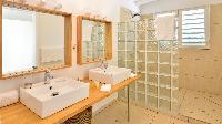 elegant bathroom in Saint Barth Villa - Bel Ombre luxury holiday home, vacation rental