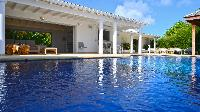 cool swimming pool of Saint Barth Villa - Bel Ombre luxury holiday home, vacation rental