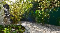 lush garden of Saint Barth Villa - Bel Ombre luxury holiday home, vacation rental