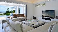 amazing living room of Saint Barth Villa - Bel Ombre luxury holiday home, vacation rental