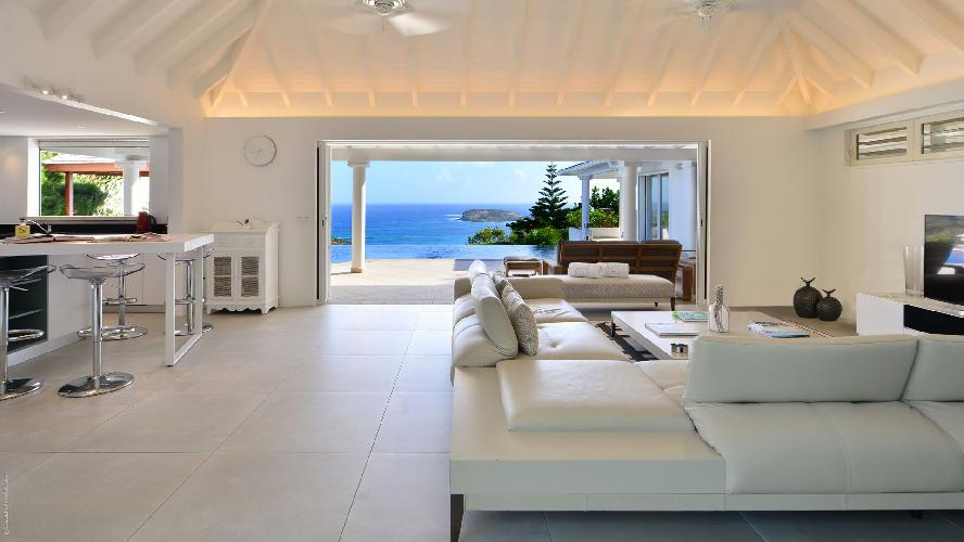 breezy and bright Saint Barth Villa - Bel Ombre luxury holiday home, vacation rental