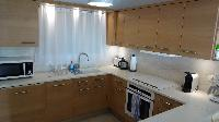 modern kitchen of Saint Barth Villa App Colony Club A2 luxury holiday home, vacation rental