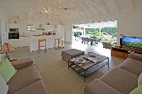 bright and breezy Saint Barth Villa Habitation Saint Louis luxury holiday home, vacation rental