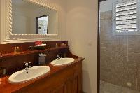 neat bathroom in Saint Barth Villa Habitation Saint Louis luxury holiday home vacation rental