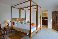 lovely bedroom in Saint Barth Villa Habitation Saint Louis luxury holiday home, vacation rental