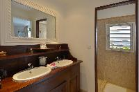clean lavatory in Saint Barth Villa Habitation Saint Louis luxury holiday home, vacation rental