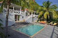fun swimming pool of Saint Barth Villa Habitation Saint Louis luxury holiday home, vacation rental