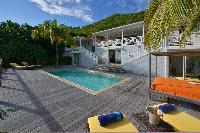 amazing pool of Saint Barth Villa Habitation Saint Louis luxury holiday home, vacation rental