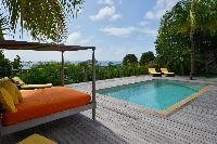 awesome pool of Saint Barth Villa Habitation Saint Louis luxury holiday home, vacation rental