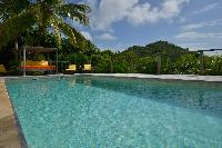 cool swimming pool of Saint Barth Villa Habitation Saint Louis luxury holiday home, vacation rental