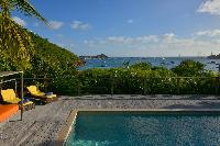 amazing sea view from Saint Barth Villa Habitation Saint Louis luxury holiday home, vacation rental