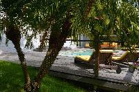 lush garden of Saint Barth Villa Habitation Saint Louis luxury holiday home, vacation rental