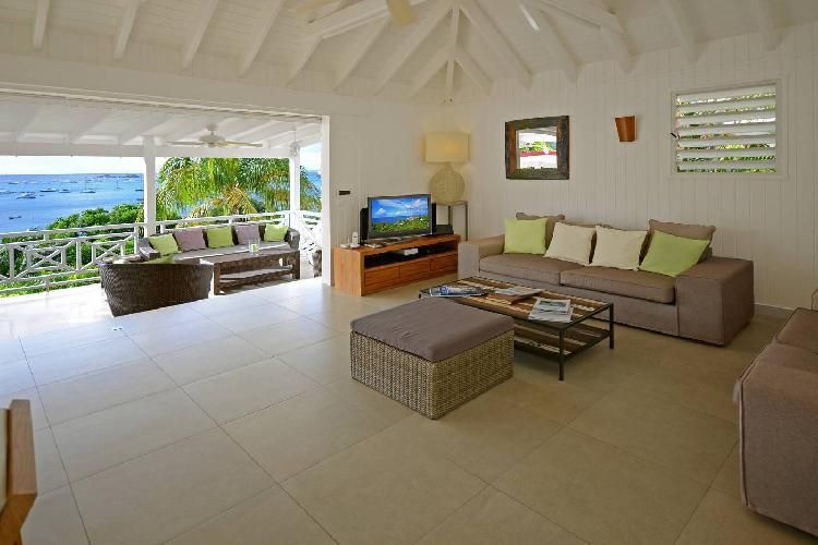 breezy and bright Saint Barth Villa Habitation Saint Louis luxury holiday home, vacation rental