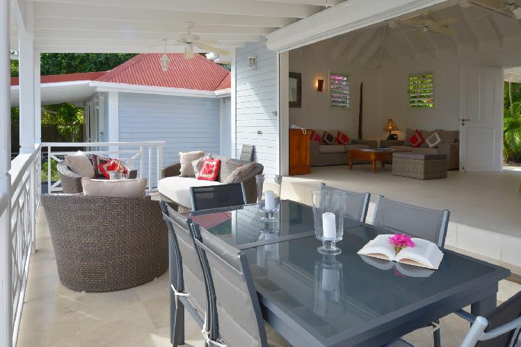 fully furnished Saint Barth Villa Habitation Saint Louis luxury holiday home, vacation rental