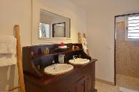 clean bathroom in Saint Barth Villa Petit Saint Louis luxury holiday home, vacation rental