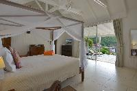 clean bedroom linens in Saint Barth Villa Petit Saint Louis luxury holiday home, vacation rental
