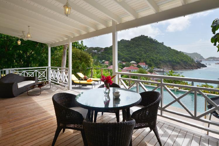 awesome waterfront Saint Barth Villa Petit Saint Louis luxury holiday home, vacation rental
