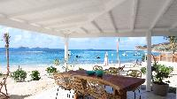 incredible seafront Saint Barth Villa Sand Castle luxury holiday home, vacation rental