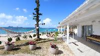 amazing beachfront Saint Barth Villa Sand Castle luxury holiday home, vacation rental