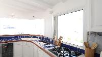 modern kitchen appliances in Saint Barth Villa Sand Castle luxury holiday home, vacation rental