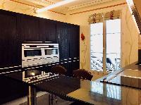 state-of-the-art kitchen in Saint Germain des pres - Abbé Grégoire luxury apartment