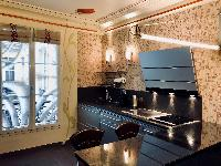 modern kitchen appliances in Saint Germain des pres - Abbé Grégoire luxury apartment