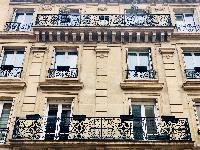 awesome exterior of Saint Germain des pres - Abbé Grégoire luxury apartment