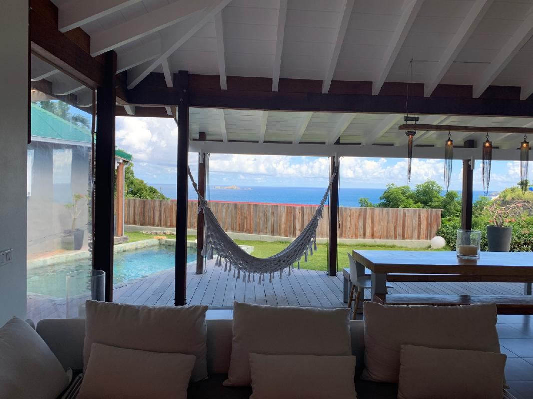 perfect waterfront Saint Barth Villa Roche Brune luxury holiday home, vacation rental