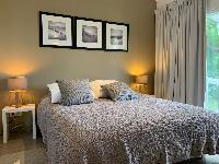 clean bedroom linens in Saint Barth Villa Roche Brune luxury holiday home, vacation rental