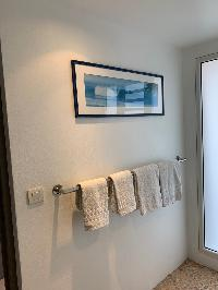 clean lavatory in Saint Barth Villa Roche Brune luxury holiday home, vacation rental