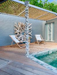 amazing pool of Saint Barth Villa Roche Brune luxury holiday home, vacation rental