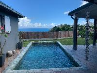 beautiful sea view from Saint Barth Villa Roche Brune luxury holiday home, vacation rental