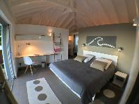 fresh bed sheets in Saint Barth Villa Roche Brune luxury holiday home, vacation rental