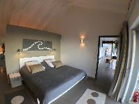 fresh bedroom linens in Saint Barth Villa Roche Brune luxury holiday home, vacation rental