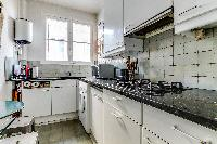 cool kitchen of Paris - Rue Laplace luxury apartment