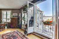 awesome access to the balcony of Paris - Rue Laplace luxury apartment