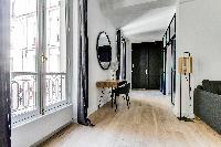 cool doors to the balcony of Champs Elysées - Foch - 1 Bedroom luxury apartment