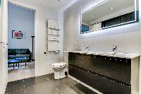 nice bathroom in Champs Elysées - Foch - 1 Bedroom luxury apartment