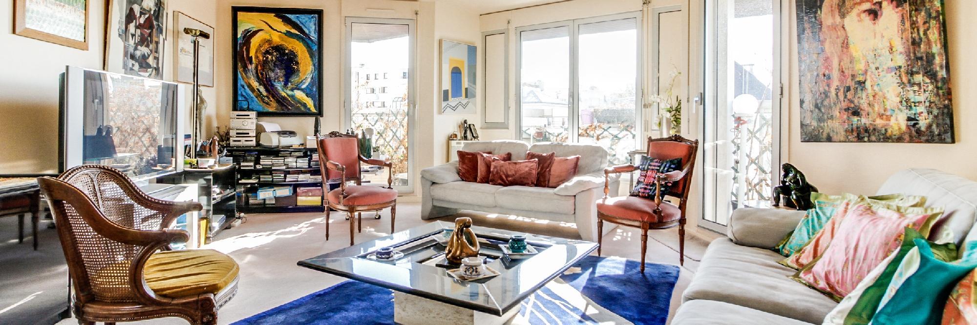 Paris - Rue du Banquier Penthouse