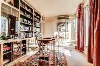 fully furnished Paris - Rue du Banquier Penthouse luxury apartment