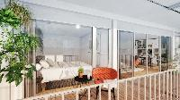 awesome Paris - Rue Jules Joffrin luxury apartment and vacation rental