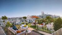 awesome roof terrace of Paris - Rue Jules Joffrin luxury apartment