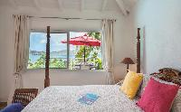 clean bedroom linens in Saint Barth Villa Alizée D'Eden luxury holiday home, vacation rental