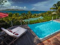 fantastic pool of Saint Barth Villa Alizée D'Eden luxury holiday home, vacation rental