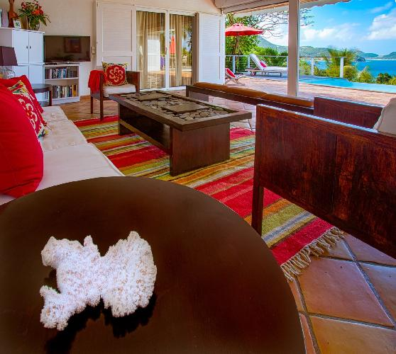 neat Saint Barth Villa Alizée D'Eden luxury holiday home, vacation rental