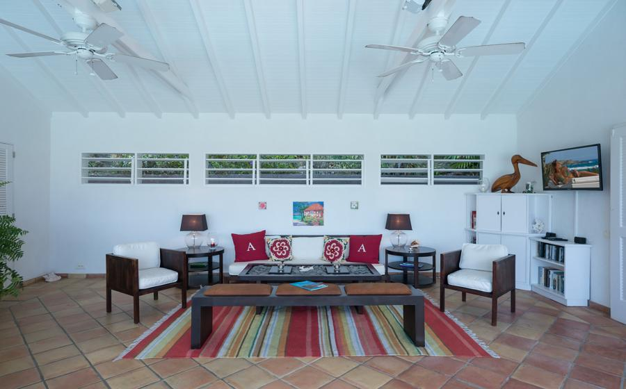 spacious Saint Barth Villa Alizée D'Eden luxury holiday home, vacation rental