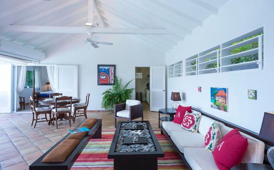 fully furnished Saint Barth Villa Alizée D'Eden luxury holiday home, vacation rental