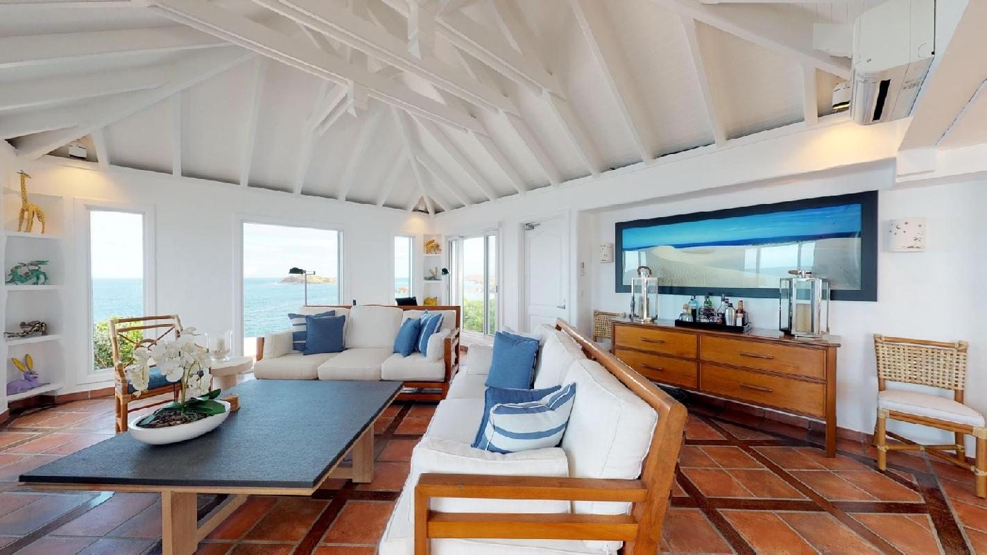 perfect Saint Barth Villa Cap Au Vent luxury holiday home, vacation rental